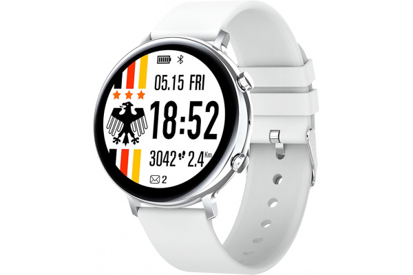 Смарт часы GW33 с ЭКГ silver
