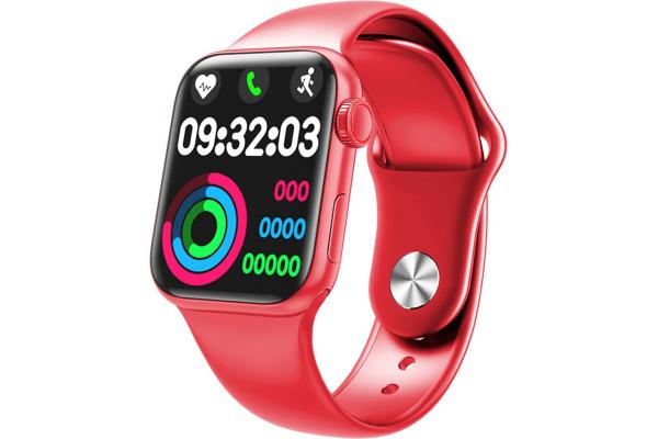 Смарт часы HW12 40mm red