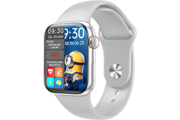 Смарт часы HW16 44mm grey
