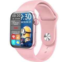 Купить Смарт-годинник HW16 44mm pink