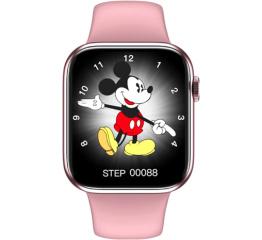 Купить Смарт часы HW16 44mm pink в Украине