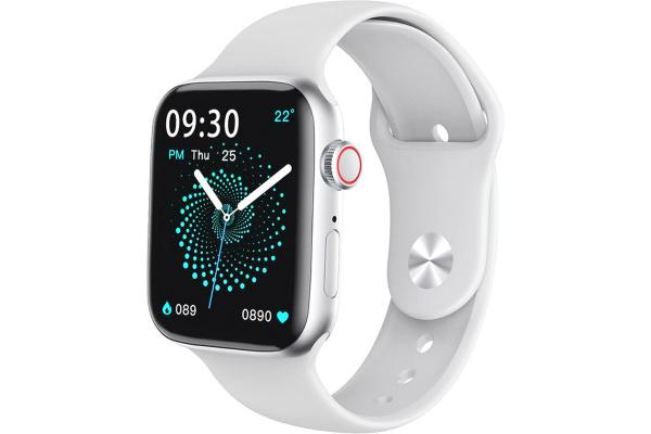 Смарт-годинник HW22 Watch 6 44mm white