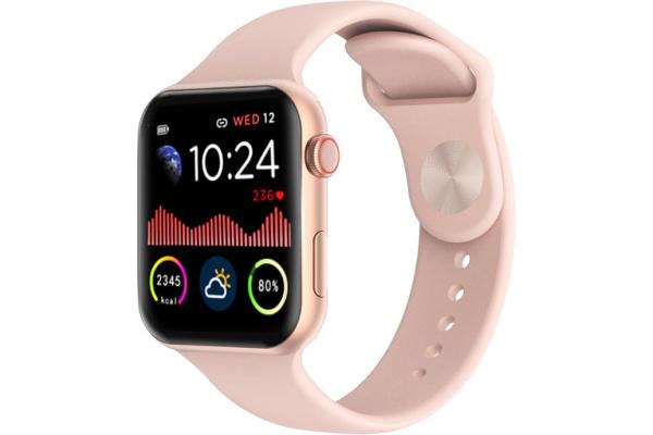 Смарт часы IWO 12 Pro pink
