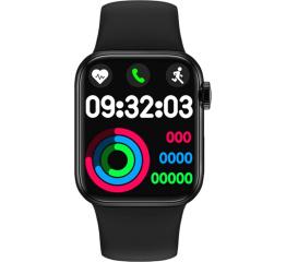 Купить Смарт-годинник IWO Series 6 black в Украине