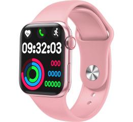 Купить Смарт часы IWO Series 6 pink