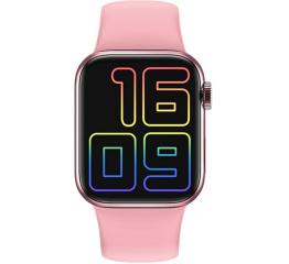 Купить Смарт часы IWO Series 6 pink в Украине