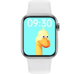 Купить Смарт-годинник IWO Series 6 white в Украине
