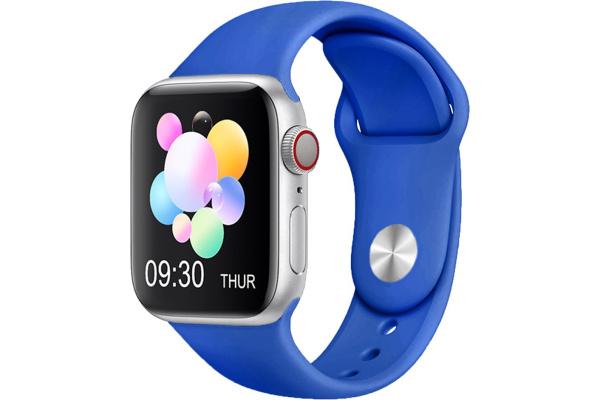 Смарт часы IWO X7 blue