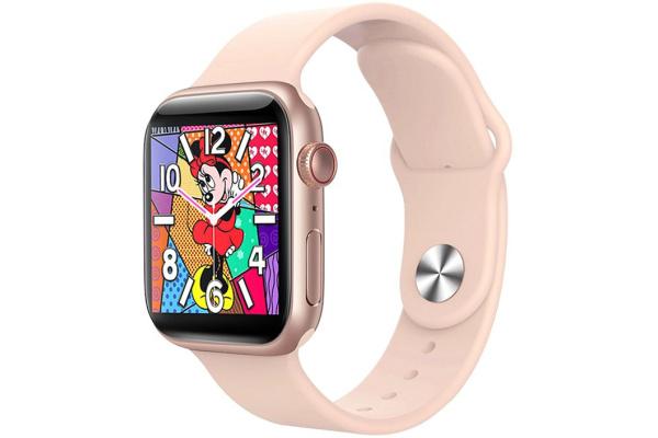 Смарт часы IWO X7 pink