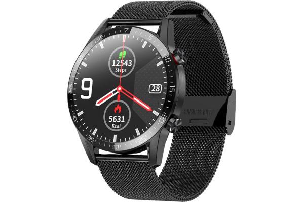 Смарт часы Microwear L13 с ЭКГ Metal black