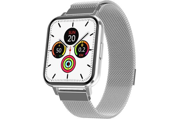 Смарт часы DTX с ЭКГ Metal silver