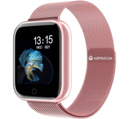 Купить Смарт часы P70S Metal pink