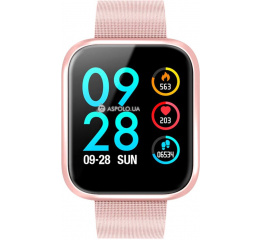 Купить Смарт-годинник P70S pink в Украине