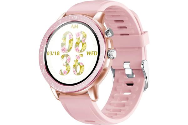 Смарт часы S02 pink