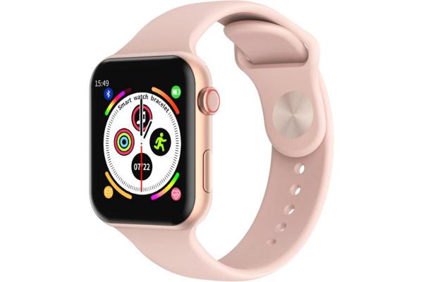 Смарт часы T500 pink