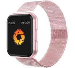 Купить Смарт-годинник T88 Metal pink