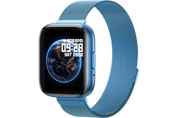 Смарт часы T99 Metal blue