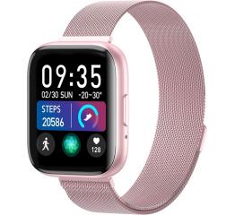 Купить Смарт-годинник T99 Metal pink