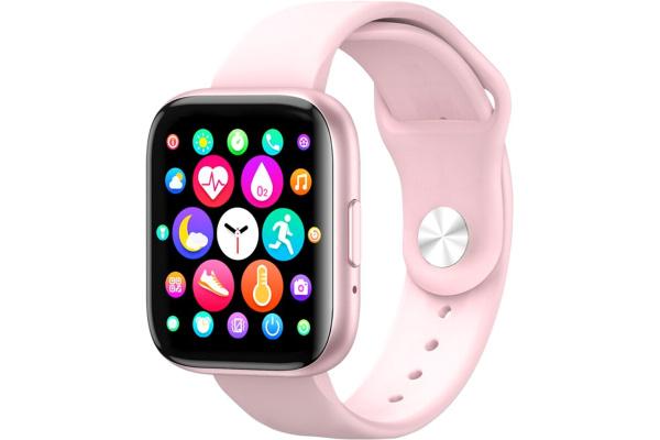Смарт часы T99 pink