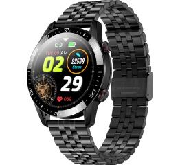 Купить Смарт часы TK28 с ЭКГ Metal black