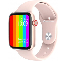Купить Смарт часы Watch 6 с ЭКГ pink