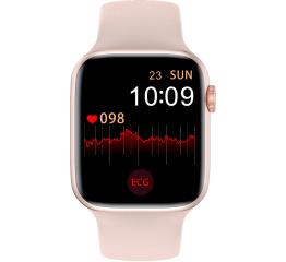 Купить Смарт часы Watch 6 с ЭКГ pink в Украине