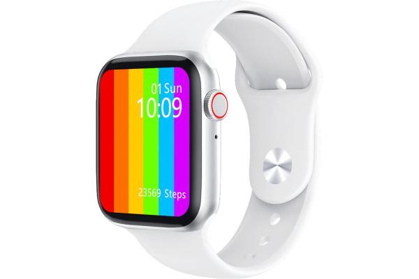 Смарт часы W26 с ЭКГ white