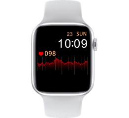 Купить Смарт часы Watch 6 с ЭКГ white в Украине